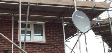 Satellite & TV Aerial Relocations