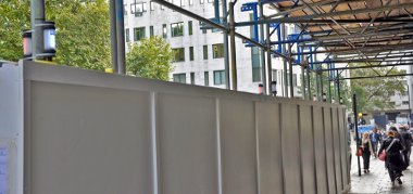Scaffold Fencing & Hoarding